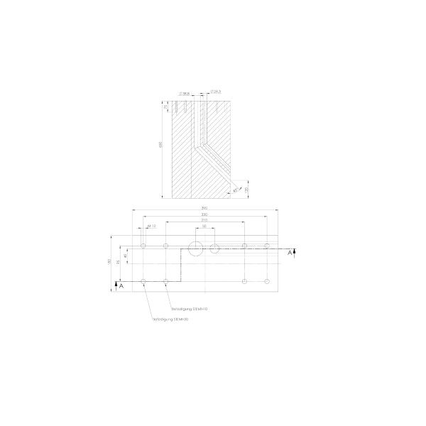 ABL Fundament betonowy dla steli STEMH10 / STEMH30