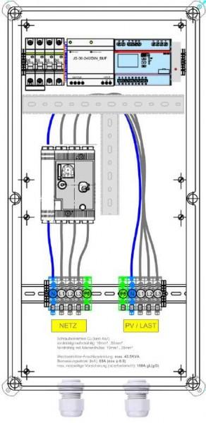 Enwitec Ochrona sieci i instalacji feed-guard 43,5 kVA 63 A