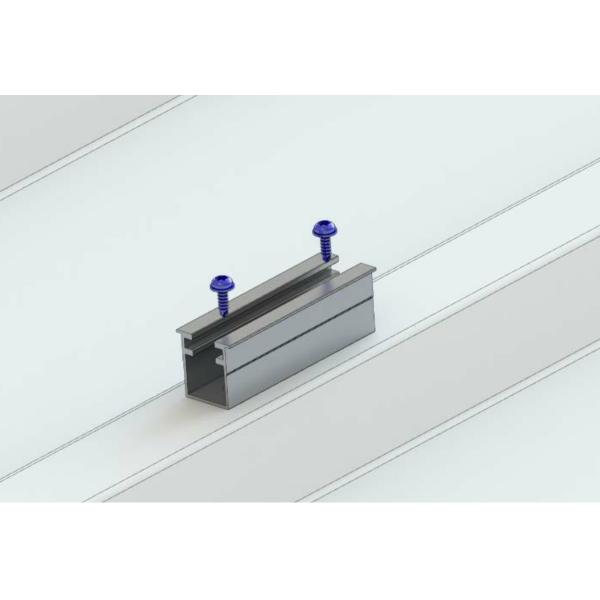 Mostek do blachy trapezowej Alumero 2.1 T, długość 100 mm