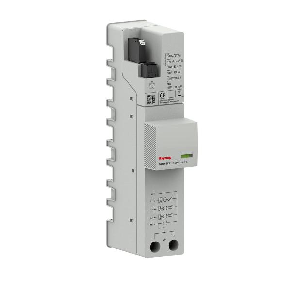Raycap Ochrona przepięciowa AC szyna zbiorcza Typ I+II TN-S / TT