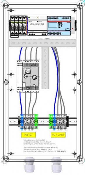 Enwitec Ochrona sieci i instalacji feed-guard 110,4 kVA 160 A