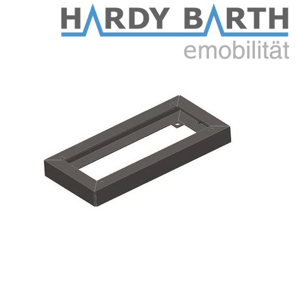 Hardy Barth Cokół stal nierdzewna 40 mm do cPP1