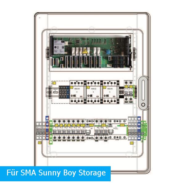 Enwitec Urządzenie przełączające 1x SMA SB Storage Pmax 20kW