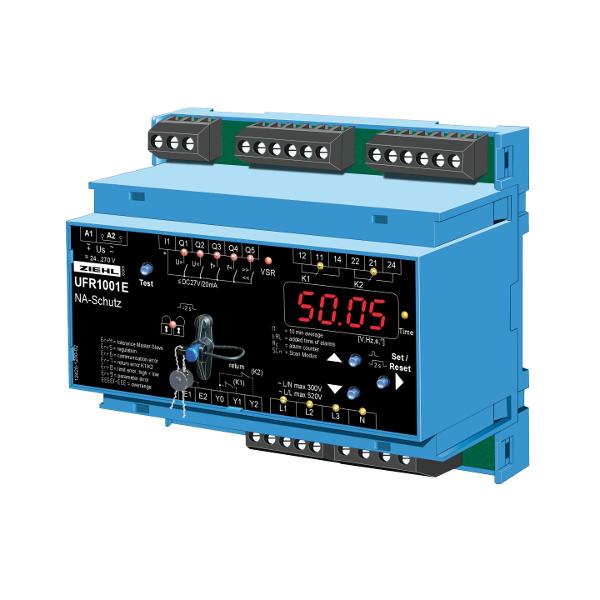 Ziehl Kontroler ochrony sieci i instalacji UFR1001E