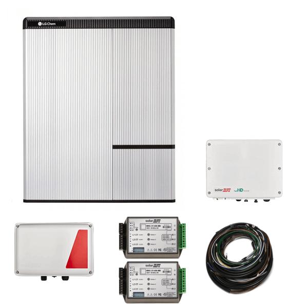 Zestaw LG Chem RESU 10H, SE StorEdge HD i SE5000H AC N4 – do falowników obcych producentów