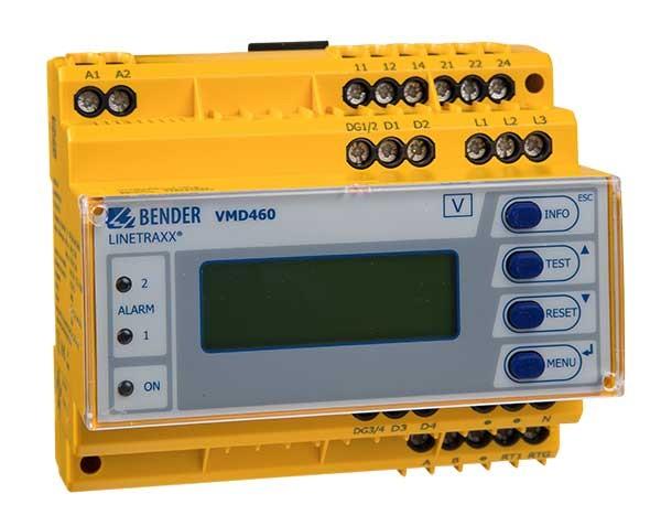 Bender Kontroler do ochrony sieci i instalacji VMD460-NA