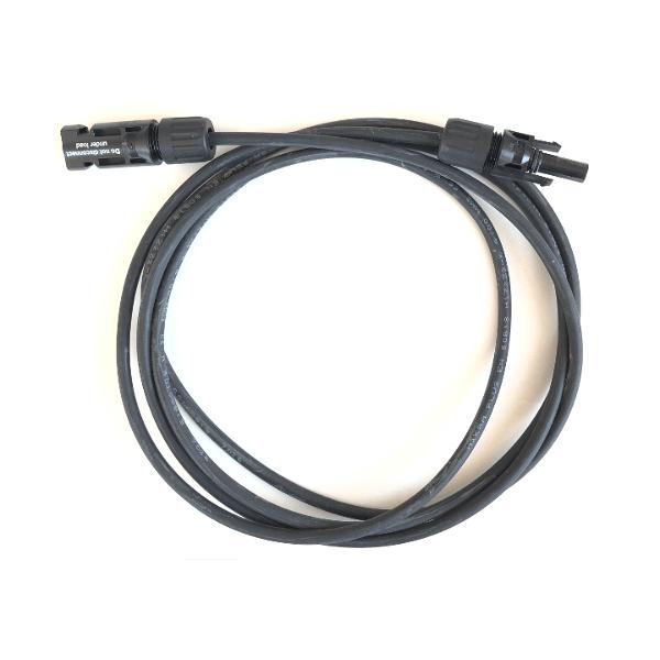 Przedłużacz do kabla solarnego MC4 2 m