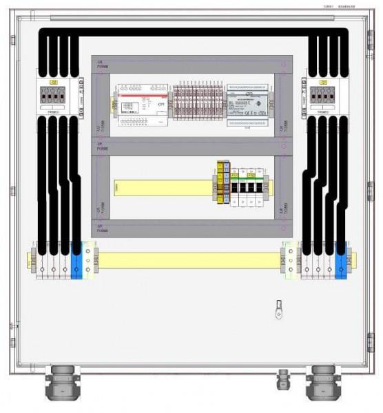 HIS Ochrona sieci i instalacji HNA-077-0-B001 / 77 kVA 110A