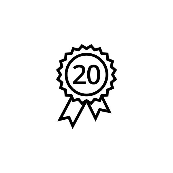 Fronius Przedłużenie gwarancji 20 J K2