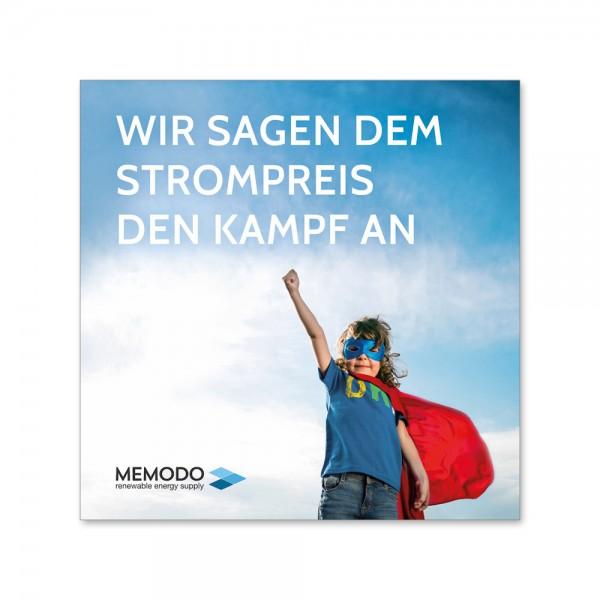Memodo – Ulotki dla klientów końcowych (500 szt.)