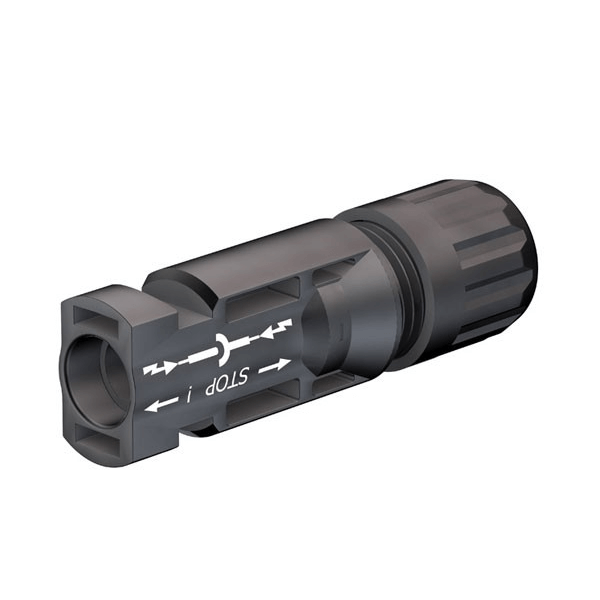Stäubli MC4 wtyczka, 4–6 mm² II, Da 5,9–8,8 mm